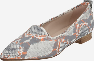 Donna Carolina Loafer in beige / hellgrau / orange, Produktansicht