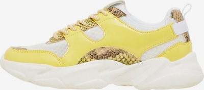 Bianco Sneaker in gelb / gold / weiß, Produktansicht