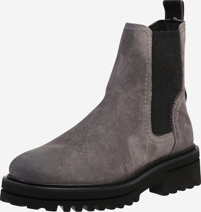 Marc O'Polo Chelsea Boots in hellgrau: Frontalansicht