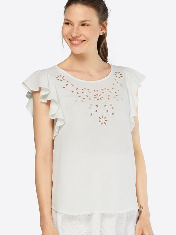 'vinellie' Shirt Vila Weiß Vila Shirt qt6nEzCwx