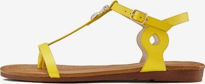 LASCANA Sandale in gelb, Produktansicht