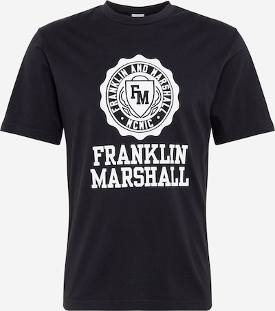 FRANKLIN & MARSHALL Shirt in schwarz, Produktansicht