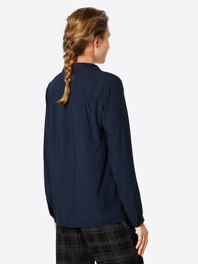GREYSTONE Bluse in nachtblau: Rückansicht
