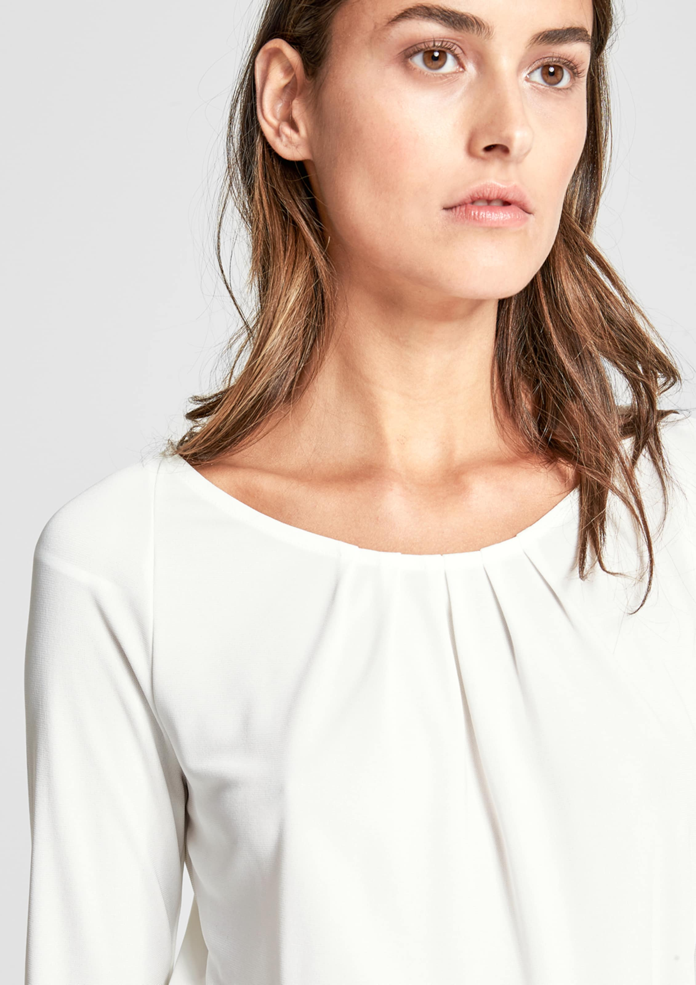 Billig Verkauf Hochwertiger 2018 Günstiger Preis s.Oliver BLACK LABEL Shirt mit Falten-Detail Spielraum Authentisch Qualität Für Freies Verschiffen Verkauf Q0zR4k