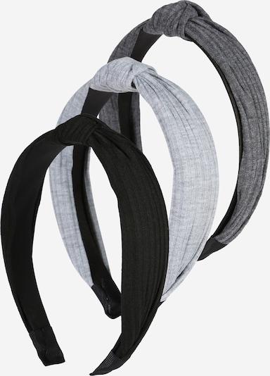 ABOUT YOU Joyería para el pelo 'Samantha' en gris / gris claro / negro, Vista del producto