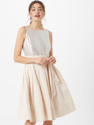 Lauren Ralph Lauren Kleid 'YUKO' in champagner / silbergrau, Modelansicht