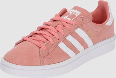 ADIDAS ORIGINALS Sneakers laag 'Campus' in Pink / Wit