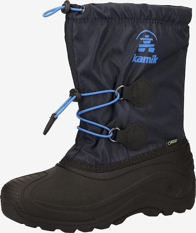 Kamik Boots en bleu / bleu nuit, Vue avec produit