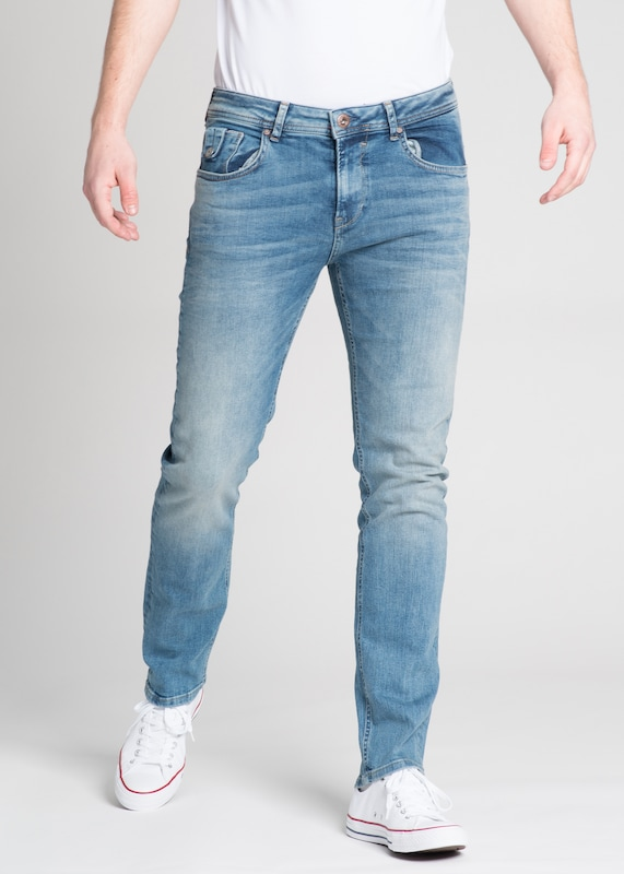 Miracle of Denim Jeans 'Ricardo' in blue denim: Frontalansicht