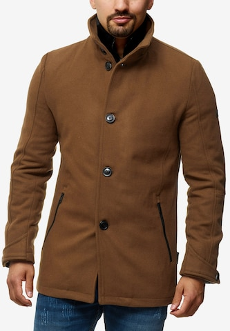 Manteau d'hiver 'Brittany' INDICODE JEANS en beige