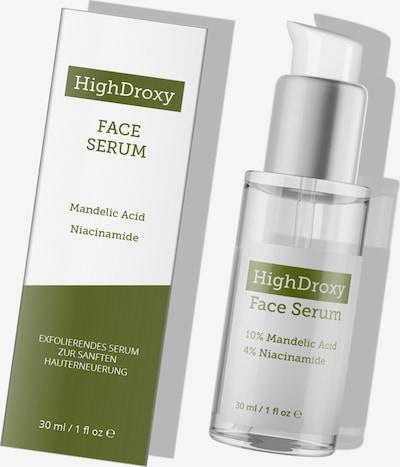 HighDroxy sanftes chemisches Peeling 'FACE SERUM' in weiß, Produktansicht