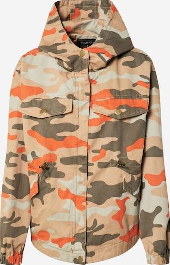 Urban Classics Jacke in beige / braun / orange, Produktansicht