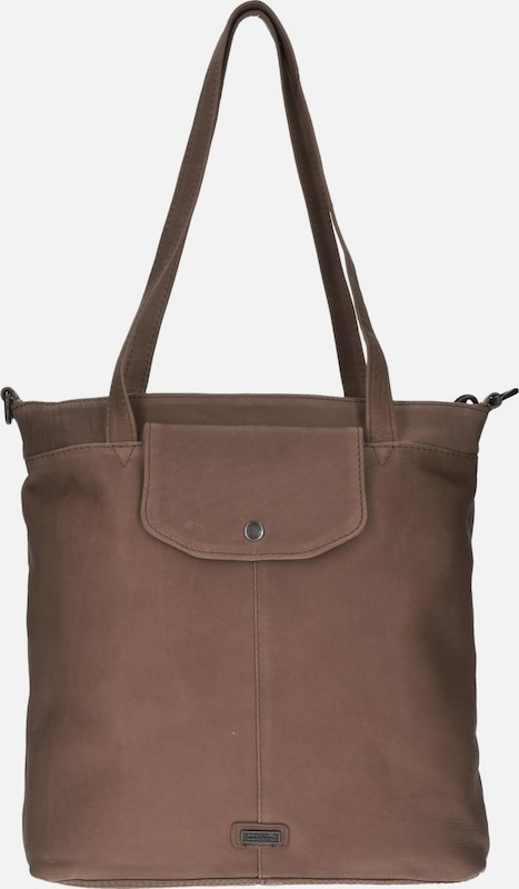 Spikes & Sparrow Idaho Shopper Tasche Leder 30 Cm