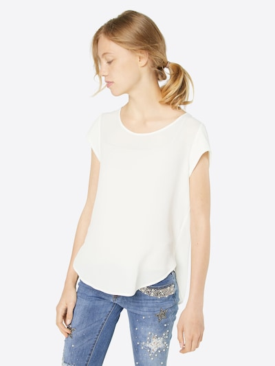 ONLY Blouse 'VIC' in de kleur Offwhite, Modelweergave