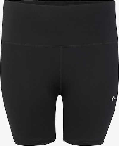 Only Play Curvy Sportbroek 'onpMADGE SHAPE UP TRAI SHORTS - CURVY' in de kleur Zwart, Productweergave