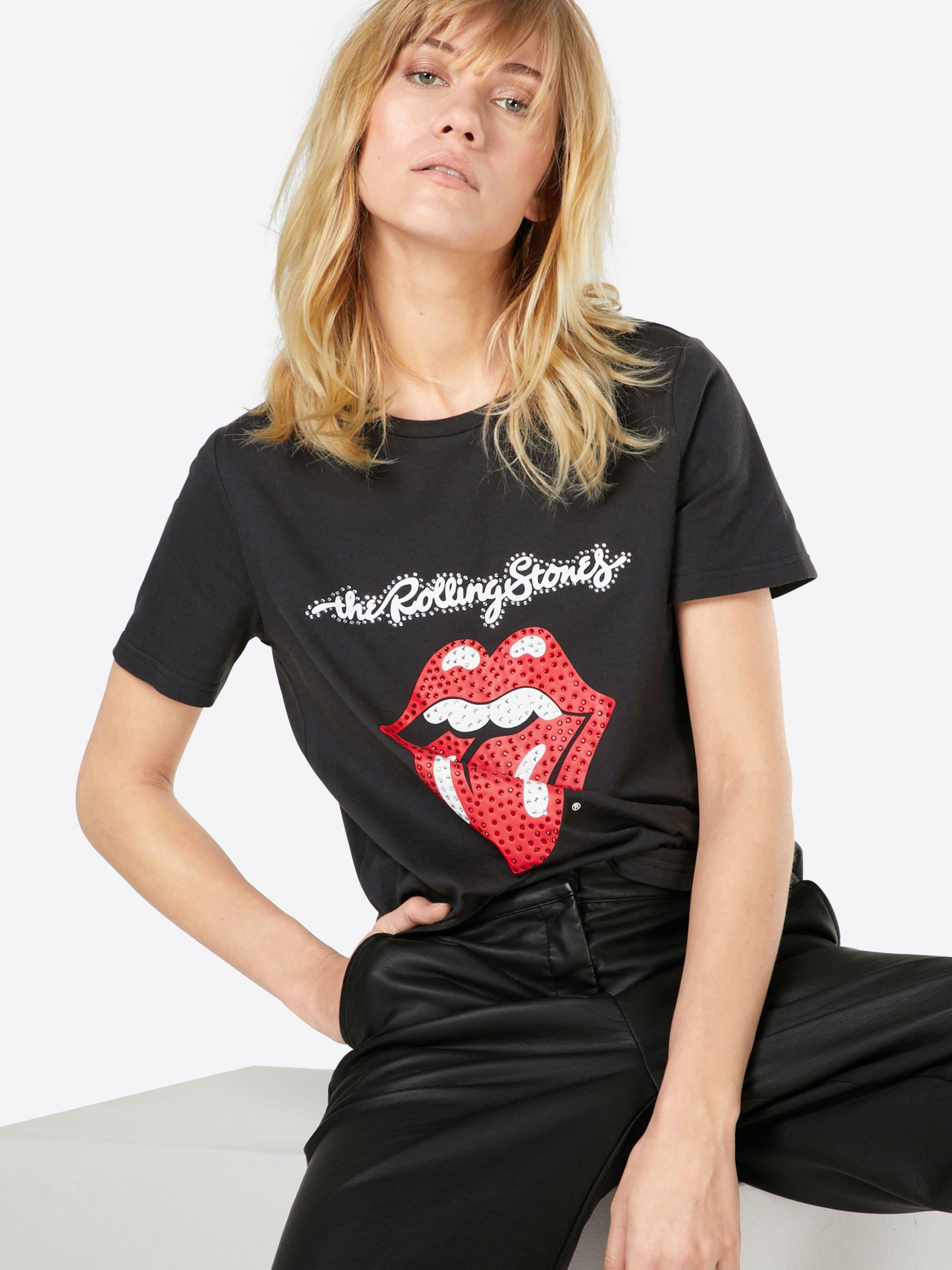 ONLY T-Shirt 'ROLLING STONES SEQUINS' Spielraum Online-Shop Wahl Zum Verkauf Online Wie Vielen Verkauf Billig Beste Preise 1Am9fCD