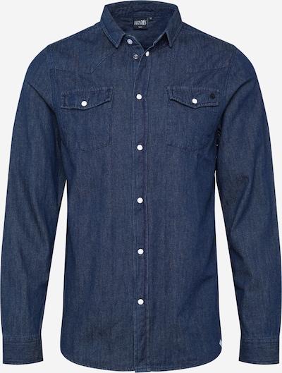 Hailys Men Overhemd in de kleur Donkerblauw, Productweergave
