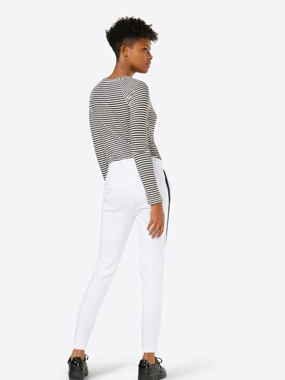 Urban Classics Hose in schwarz / weiß: Rückansicht
