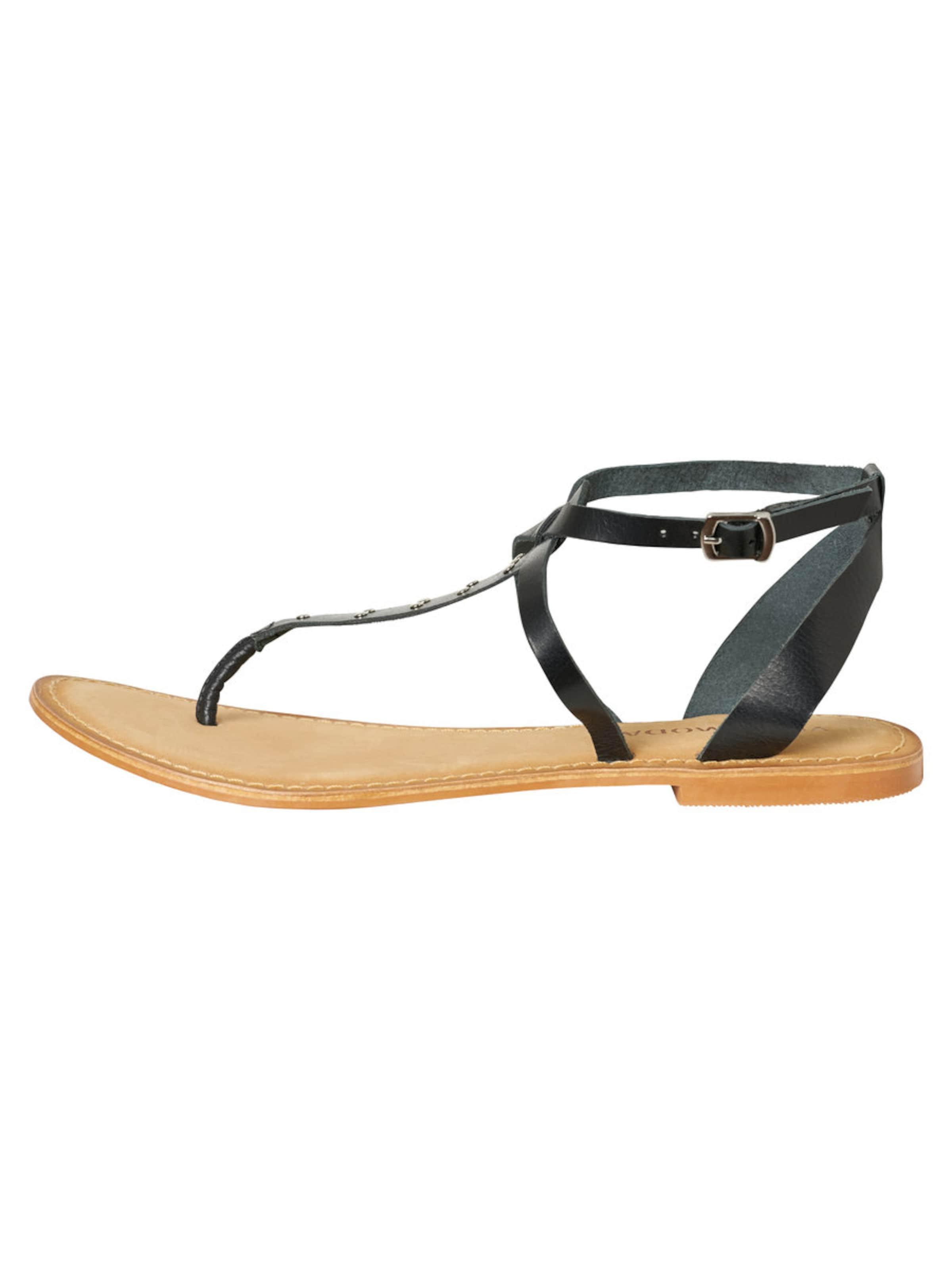 VERO MODA Lederriemen Sandalen Verschleißfeste billige Schuhe