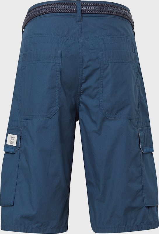 TOM TAILOR Bermuda Shorts in blau: Frontalansicht