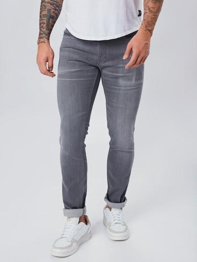 HUGO Jeans '734' in de kleur Grijs: Vooraanzicht