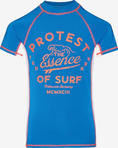 PROTEST Schwimmshirt in blau, Produktansicht