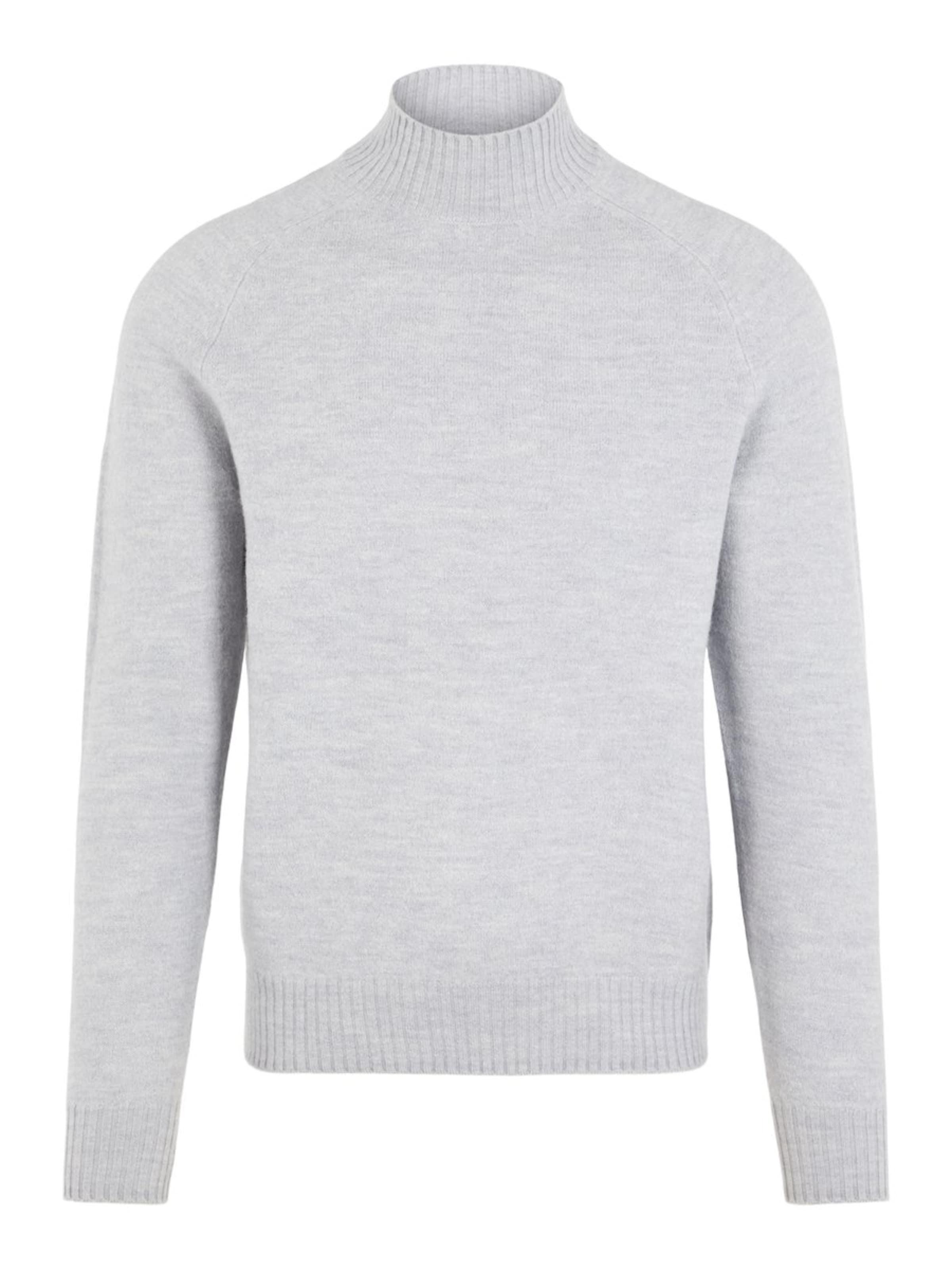 Wool' Rollkragenpullover In J 'tony lindeberg Graumeliert P8wknO0X