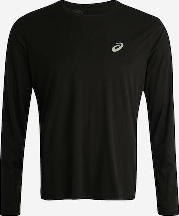 ASICS Funksjonsskjorte 'Silver' i svart