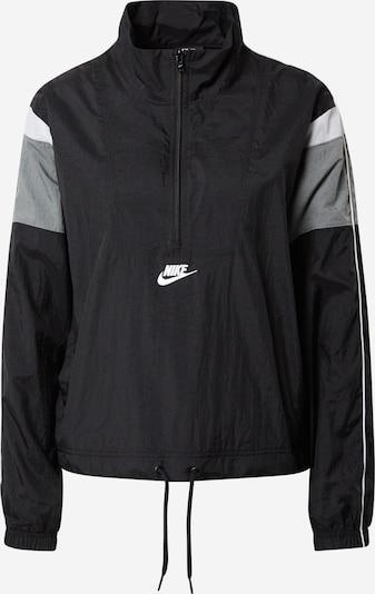 Nike Sportswear Funkcionalna jakna | črna barva, Prikaz izdelka