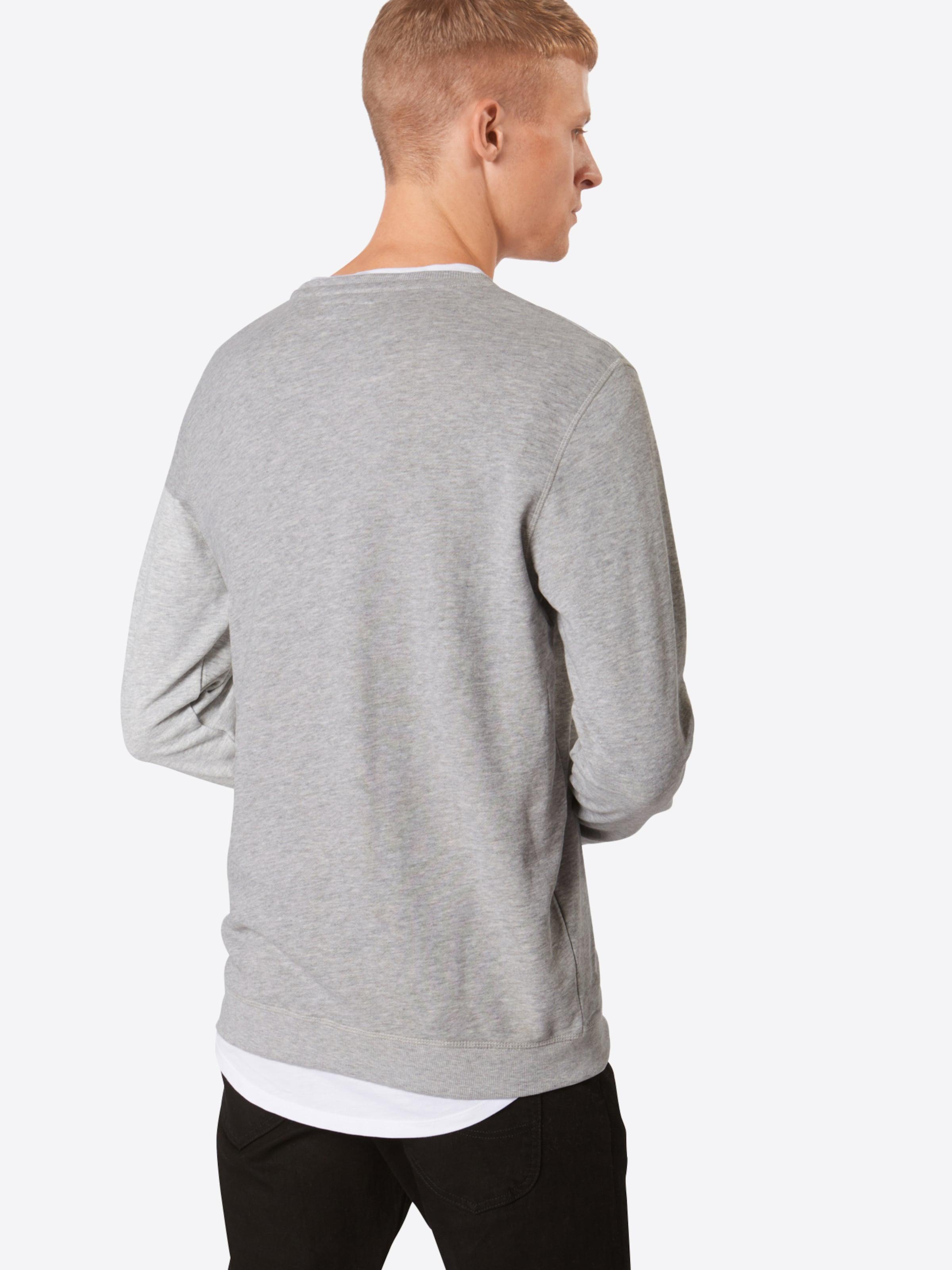 In 'garon' 'garon' solid Sweatshirt Grau Sweatshirt In solid Grau redCoxB