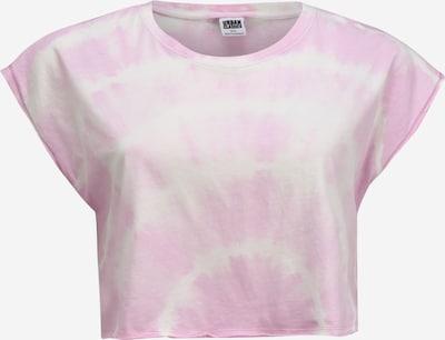 Urban Classics Curvy Shirt 'Ladies Short Tie Dye Tee' in de kleur Pink, Productweergave