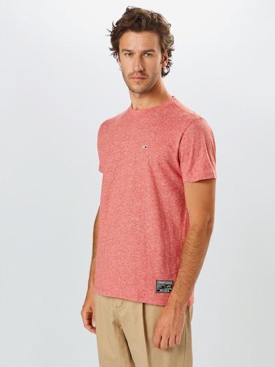 Tommy Jeans Koszulka w kolorze nakrapiany czerwonym: Widok z przodu