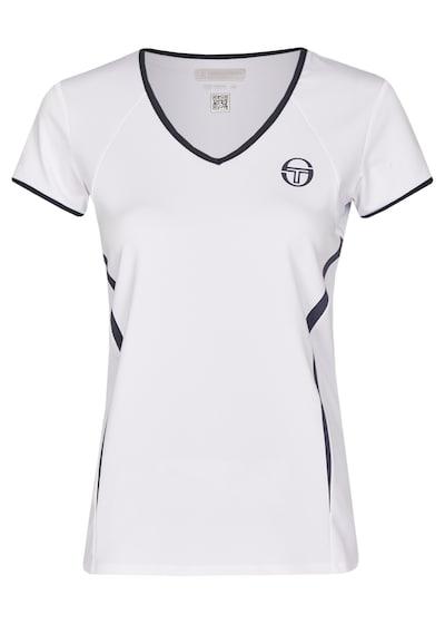 Sergio Tacchini T-Shirt 'Eva' in enzian / weiß, Produktansicht