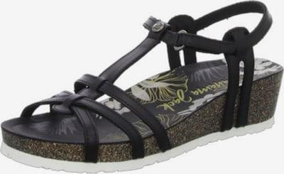 PANAMA JACK Sandalen/Sandaletten in schwarz, Produktansicht