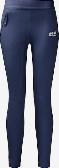 JACK WOLFSKIN Outdoorleggings 'HELJAR' in blau, Produktansicht