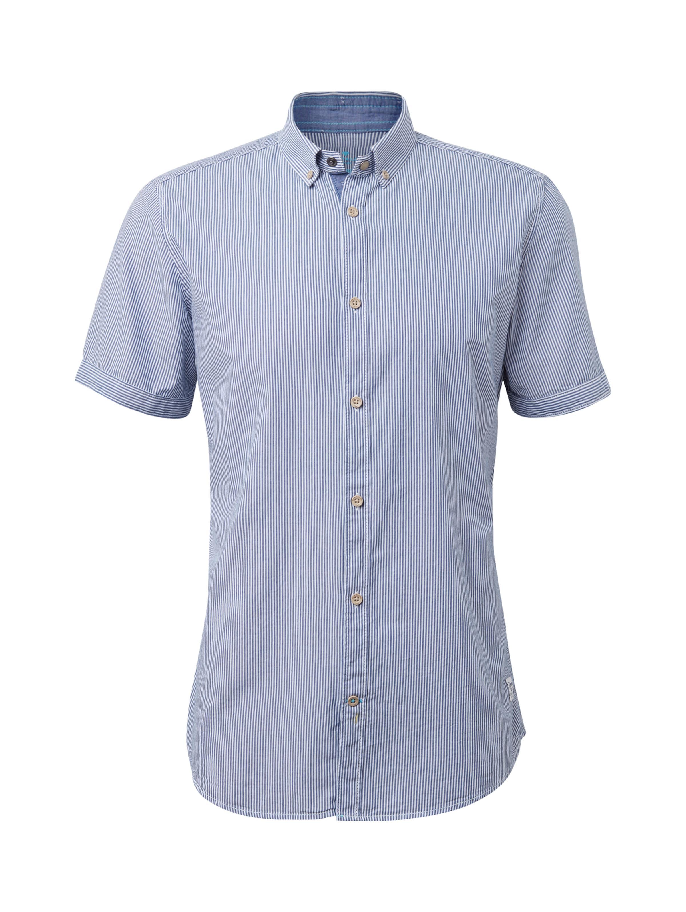 Kurzarmhemd Tom In Tailor Tom Tailor Kurzarmhemd Blau pqLSUGzMV