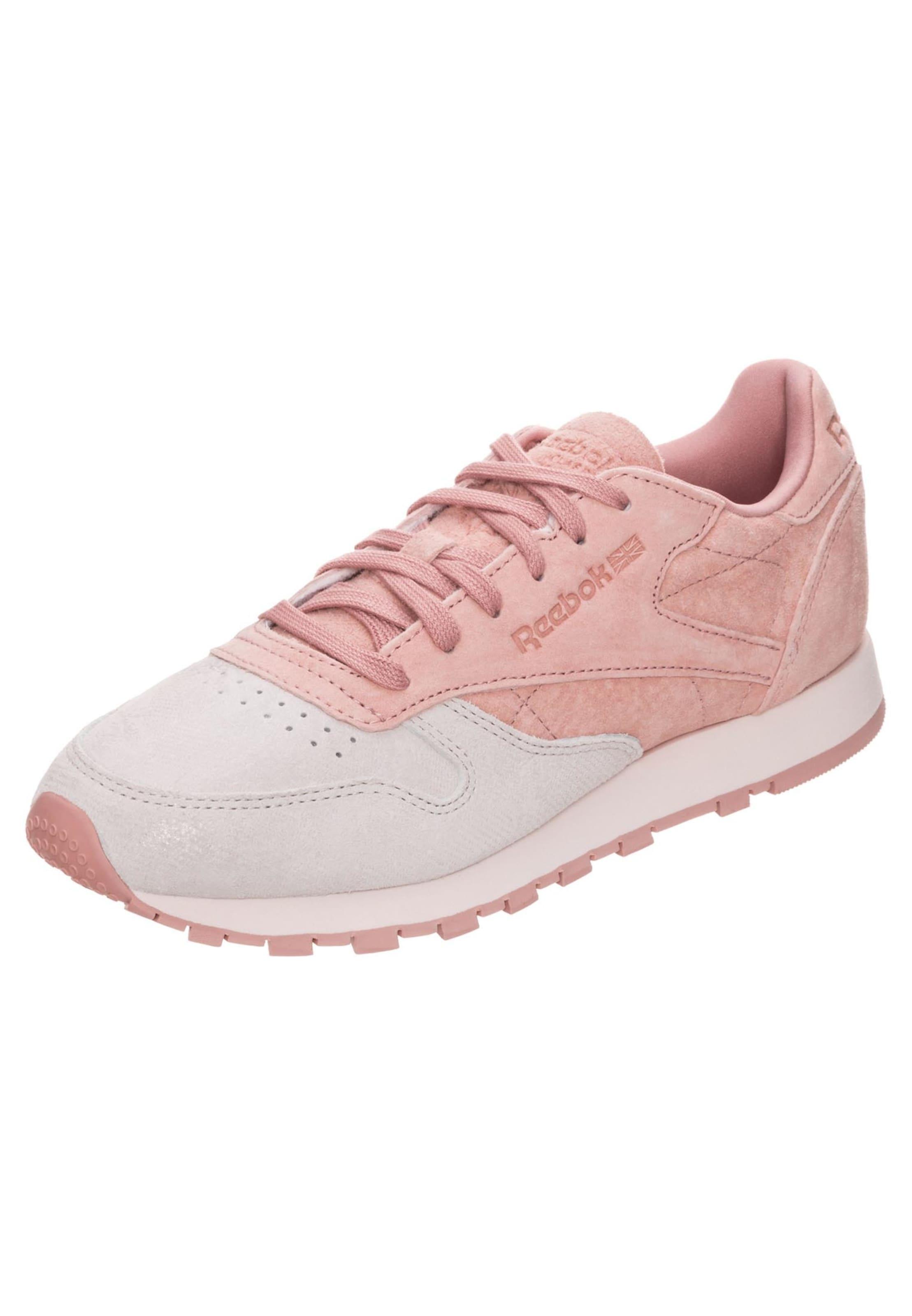 Sneaker Reebok Altrosa Leather Classic In Damen dQshtr