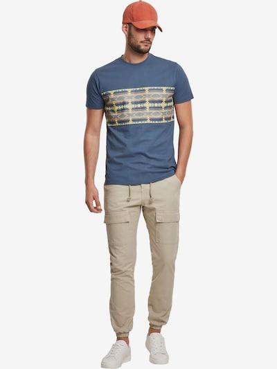 Urban Classics Pantalon cargo en beige, Vue avec modèle