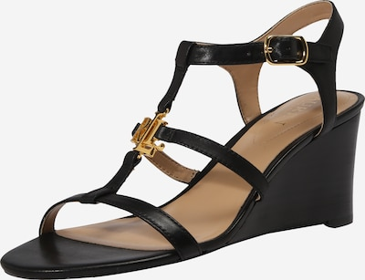 Lauren Ralph Lauren Rihmik 'CHARLTON-SANDALS-CASUAL WEDGE' must, Tootevaade