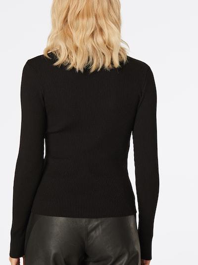LeGer by Lena Gercke Sweter 'Christin' w kolorze czarnym: Widok od tyłu