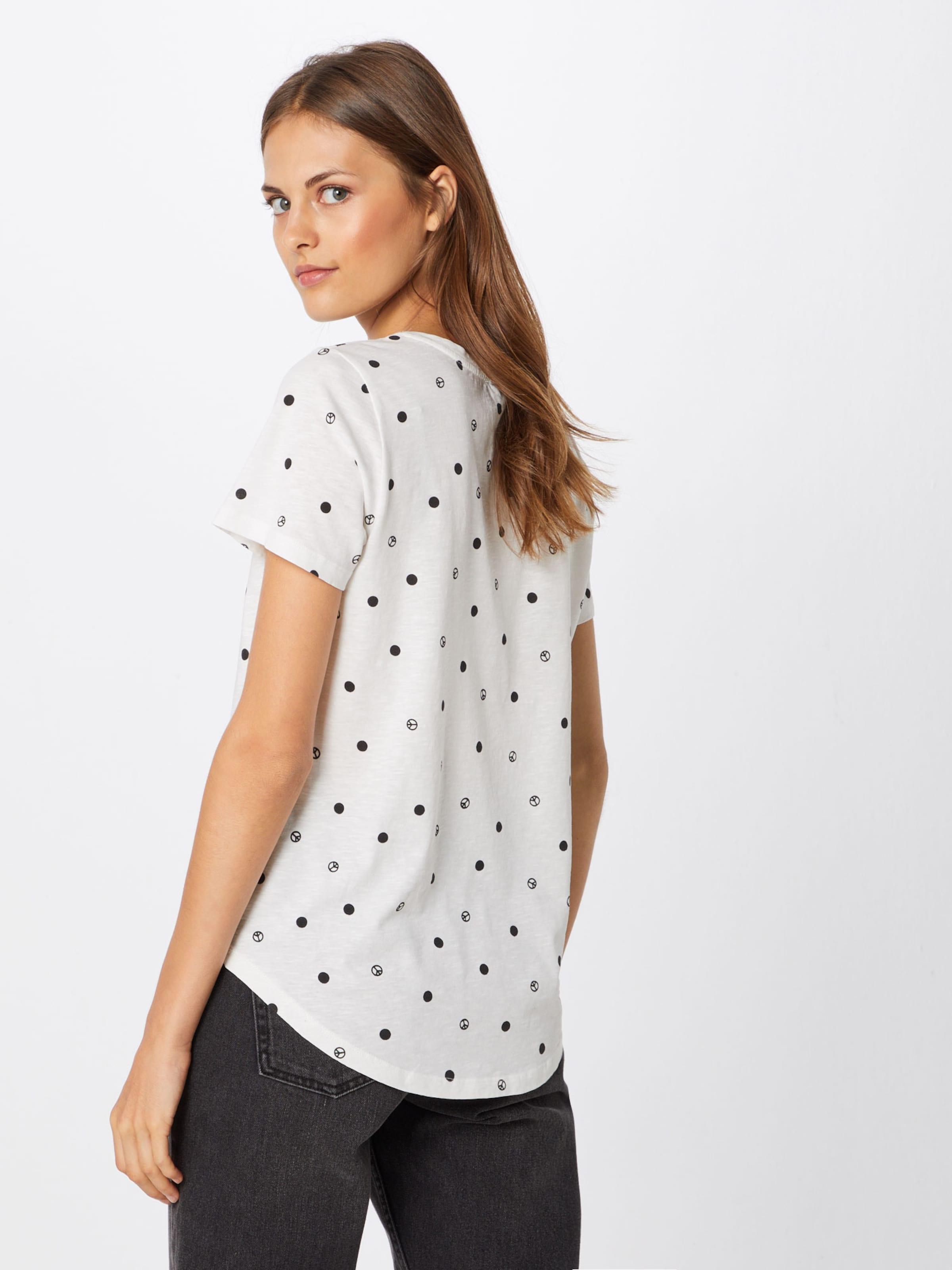 T shirt 'ts En Peace Spots' NoirBlanc Catwalk Junkie 5jLA4R