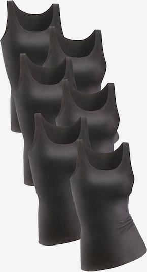 PETITE FLEUR Unterhemd in schwarz, Produktansicht