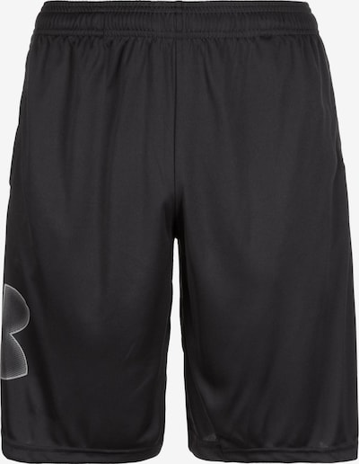 UNDER ARMOUR Shorts in schwarz / weiß, Produktansicht