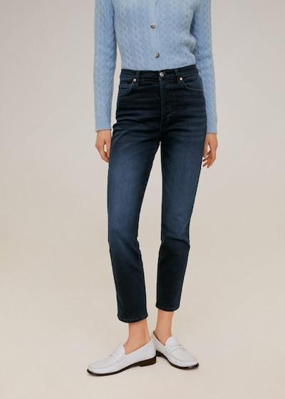 MANGO Jeans 'Gisele' in dunkelblau, Modelansicht
