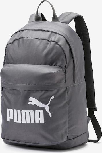 PUMA Rucksack 'Classic' in grau / weiß, Produktansicht