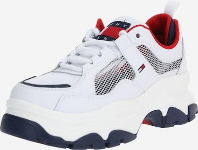 Tommy Jeans Trampki niskie w kolorze ciemny niebieski / czerwony / białym, Podgląd produktu