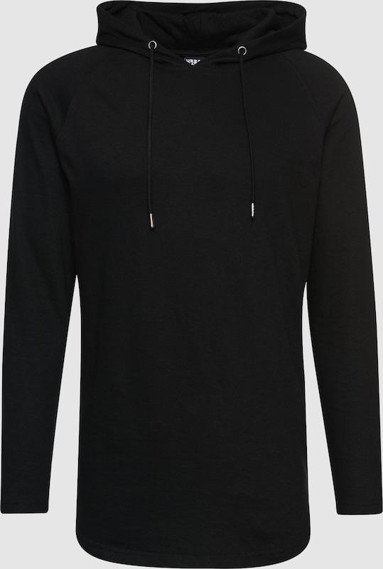 Urban Classics Sweater 'Long Shaped Terry Hoody'