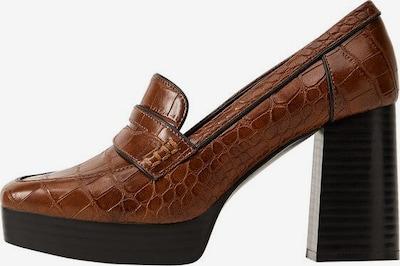 MANGO Schuh 'Disco' in braun / dunkelbraun, Produktansicht