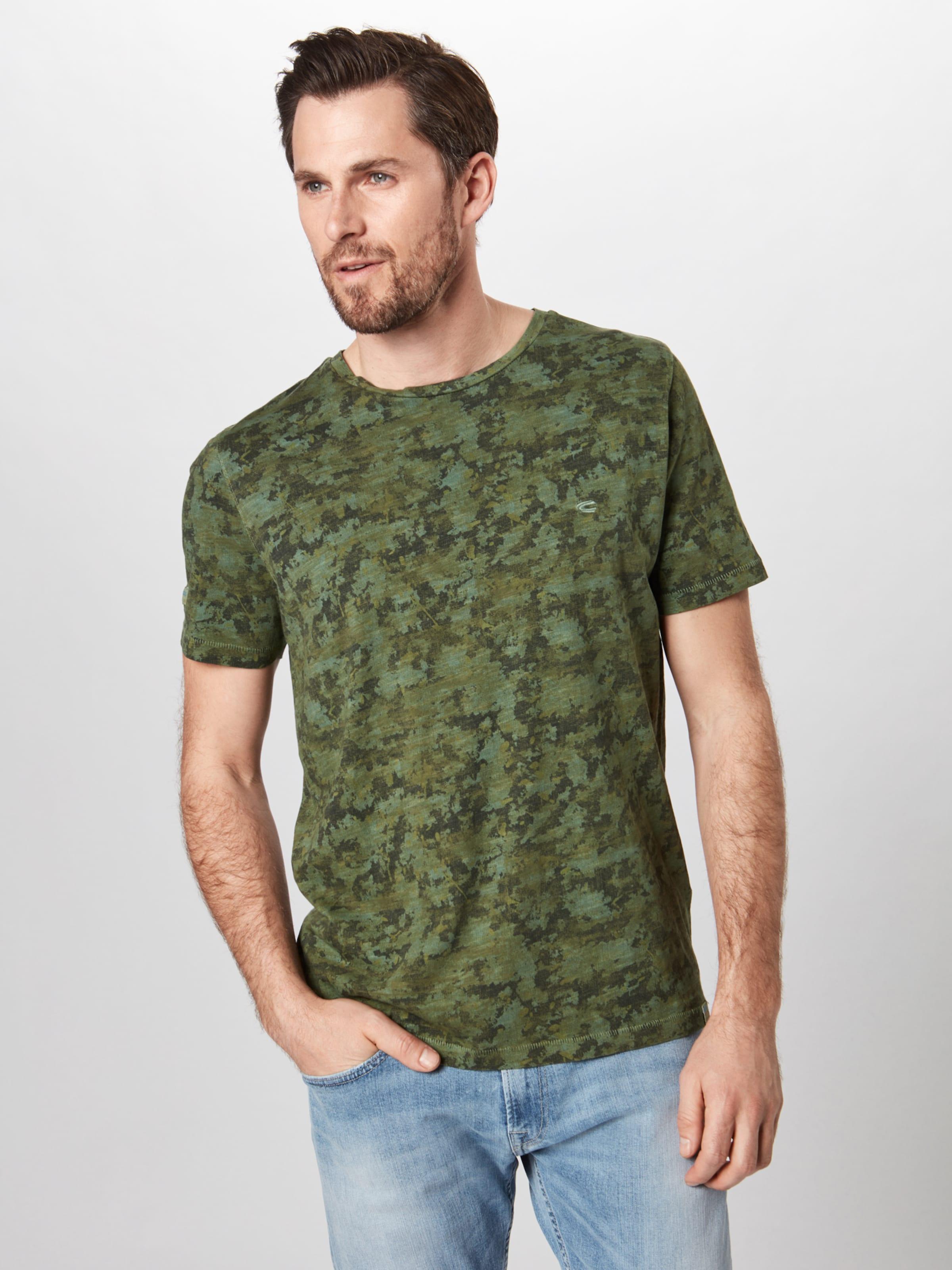 Active shirt OlivMischfarben Camel T In 354LARqj