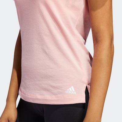 ADIDAS PERFORMANCE Sportshirt in altrosa, Produktansicht